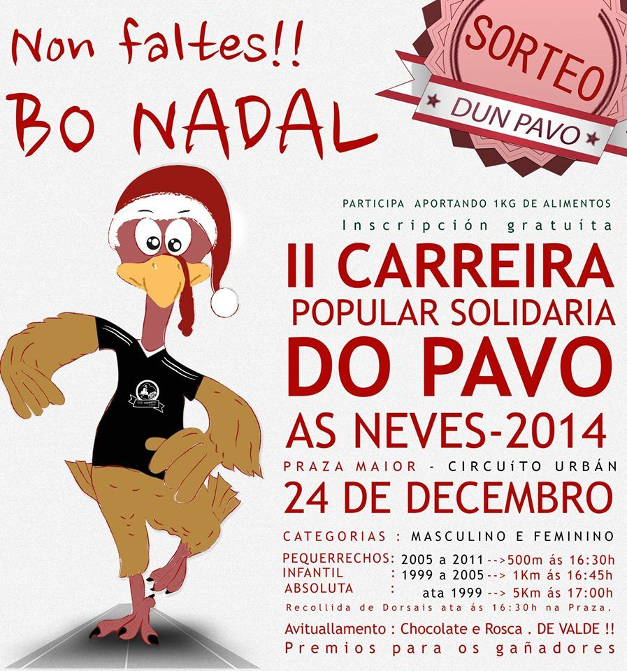 Carreira do Pavo- As Neves